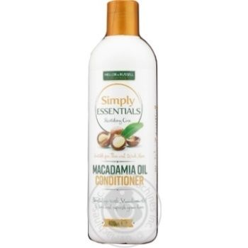 Кондиціонер Simply Essentials Macadamia відновлення 400мл
