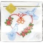 Luxy Love Inspires Table Paper Napkins 33x33cm 3 layers 20pcs