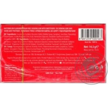 Жувальна гумка 7Stick Кавун 14,5г - купити, ціни на МегаМаркет - фото 2