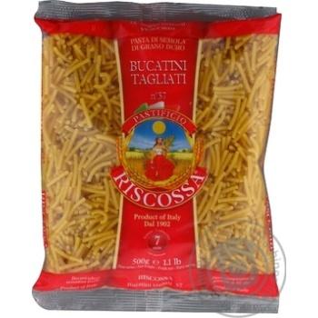 Макаронные изделия Riscossa №57 Bucatini Tagliani 500г