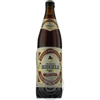 Пиво Riegele Weizen Doppelbock светлое 0,5л