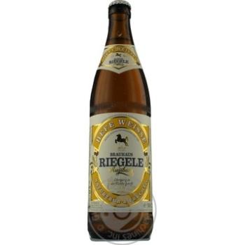 Пиво Riegele Hefe Weisse светлое нефильтрованное 0,5л