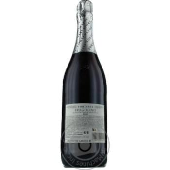 Вино ігристе Fortinia Фраголіно Rosso напівсолодке 0,75л - купити, ціни на CітіМаркет - фото 2