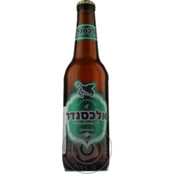 Пиво Alexander Green светлое 0,33л