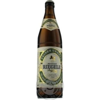 Пиво Riegele Feines Urhell светлое 0,5л