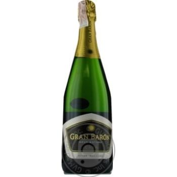 Вино ігристе Gran Baron Cava Brut Nature 0,75л