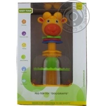 Іграшка-юла Собака/Жирафа Baby Team