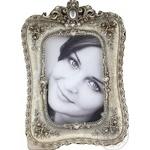 Фоторамка Срібло 10*15см арт. 1874-2 - купити, ціни на МегаМаркет - фото 1
