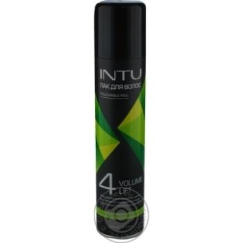Лак для волос Intu Volume Lift экстрасильная фиксация 250мл