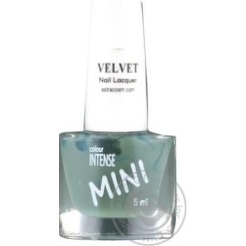 Лак для ногтей Color Intense Mini вельвет №070