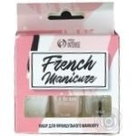 Color Intense Nail polish French Manicure Set №203