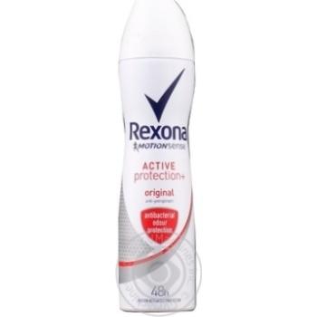 Антиперспирант Rexona Антибактериальный эффект аэрозольный 150мл