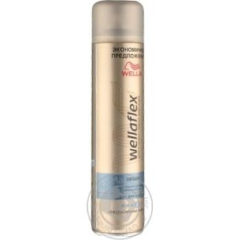 Лак для волос Wellaflex экстрасильной фиксации 400мл