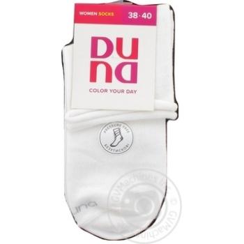 Шкарпетки жіночі Дюна білі розмір 23-25 8021