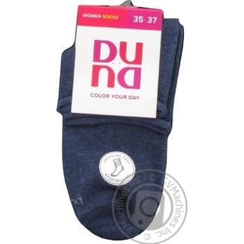 Носки женские Дюна темно-синие размер 21-23 802 - купить, цены на Фуршет - фото 1