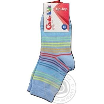 Шкарпетки дитячі Conte Kids Tip-Top 5С-11СП розмір 14,256 блакитний - купить, цены на Novus - фото 2