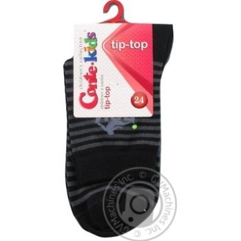 Шкарпетки дитячі Conte kids Tip-Top, розмір 24, 208 чорний