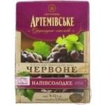 Wine Artwinery Artemivske red semisweet 9-13% 3000ml Ukraine