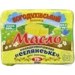 Butter Bohoduhivskiy molzavod Peasant style sweet cream 73% 200g
