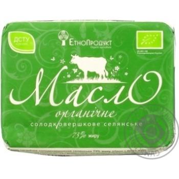 EtnoProduct Organic Selianske Sweet-Cream Butter - buy, prices for MegaMarket - image 3