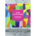 Tetrada Colored Paper A4 14 Sheets