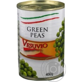 Горошок зелений консервований стерилізований Fiamma 400 г - купить, цены на Novus - фото 3