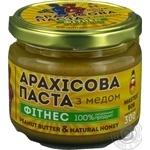 Паста арахисовая Master Bob Фитнес с медом 300г