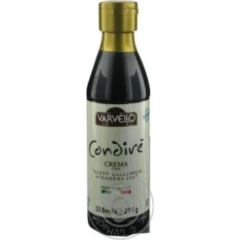Соус з бальзамічного оцту із Модени Varvello 250мл пл/б - купить, цены на Novus - фото 3