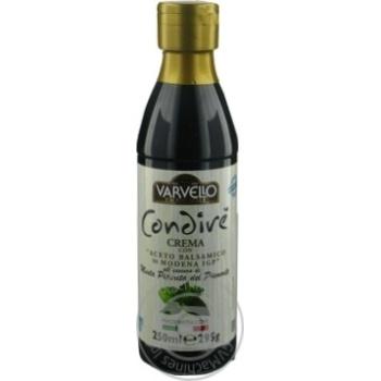 Соус з бальзамічного оцту із Модени з ефірною олією м'яти перцевої Varvello 250мл пл/б - купить, цены на Novus - фото 3