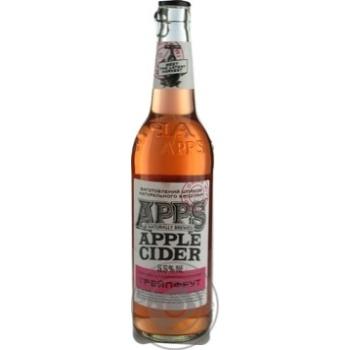Apps Apple grapefruit cider 5,5% 0,5l