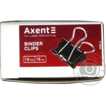 Axent binder 15mm. 12 pieces - buy, prices for Metro - image 1