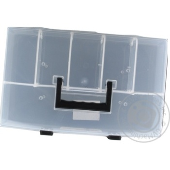Органайзер Prosperplast прозрачный на 6 секций 359X238X85мм