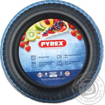 Форма для выпечки Pyrex стеклянная круглая диаметр 2.1л
