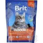 Food Brit dry for the cats of constantly resident in apartments 300g