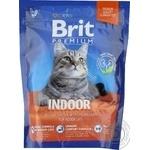 Корм сухий Brit Premium Cat Indoor 0,3кг