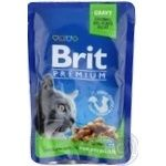 Корм Brit Premium для стерилізованих котів 100г
