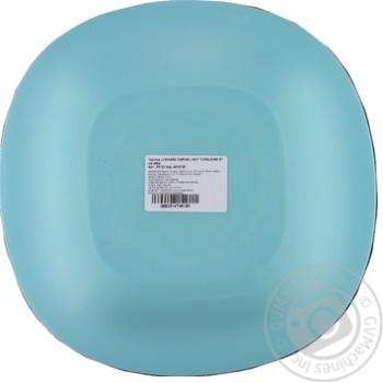 Тарелка Luminarc Carine Light Turquoise 27см - купить, цены на Таврия В - фото 2