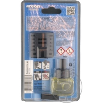 Освежитель воздуха Areon New Car 8мл - купить, цены на Novus - фото 2