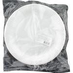 Тарелка белое бумажная 10шт 23см