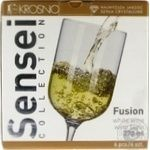Glass Krosno for wine 6pcs 270ml