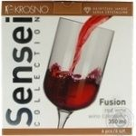 Набор рюмок Krosno Sensei Fusion для вина 6шт 350мл
