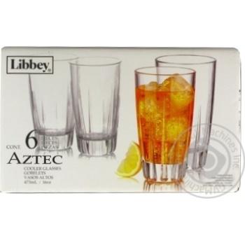 Набор стаканов Aztec 0,473л 6шт - купить, цены на МегаМаркет - фото 1