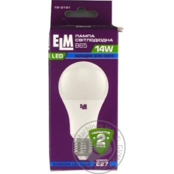 Лампа ELM Led B65 14W PA10S E27 4000