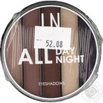 LN Professional Set of eyeshadows All Day All Night 01