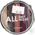 Набор теней для век LN Professional All Day All Night 04
