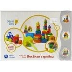 Набір для дитячого ліплення Веселе будівництво Genio Kidstart