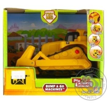 Игрушка Toy State САТ Бульдозер со светом и звуком 15см