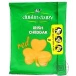 Сыр Dublin Dairy твердый красный сычужный сыр ломтиками 48% 150г