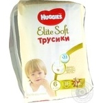 Підгузки трусики Huggies Elite Soft 16-22кг 28шт