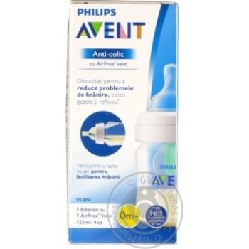 Бутылочка для кормления AVENT SCF560/17 125мл 1шт - купить, цены на Ашан - фото 2